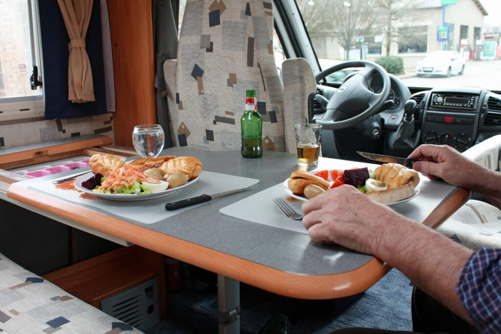 Eating in an RV