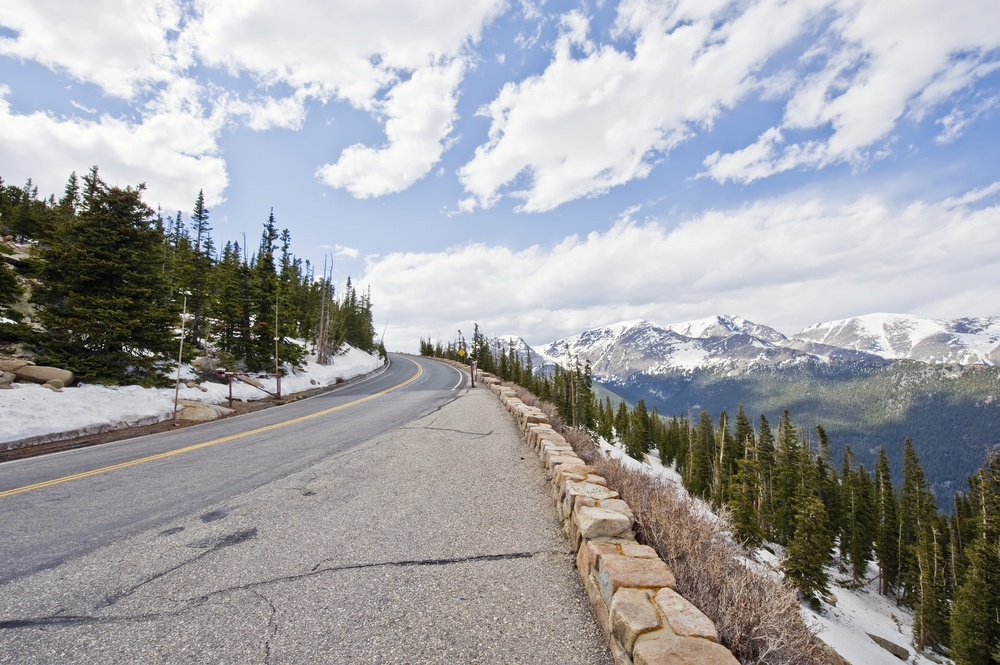 Rainbow Curve on Trail Ridge Road in Rocky Mountain National Park