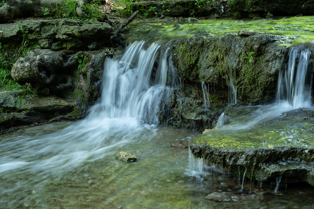 Waterfall in Clifty Falls State Park, Indiana