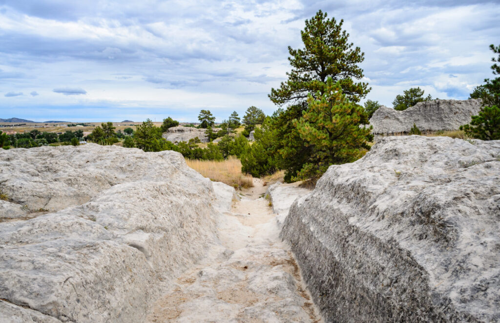 Independence Rock State Historic Site in Wyoming