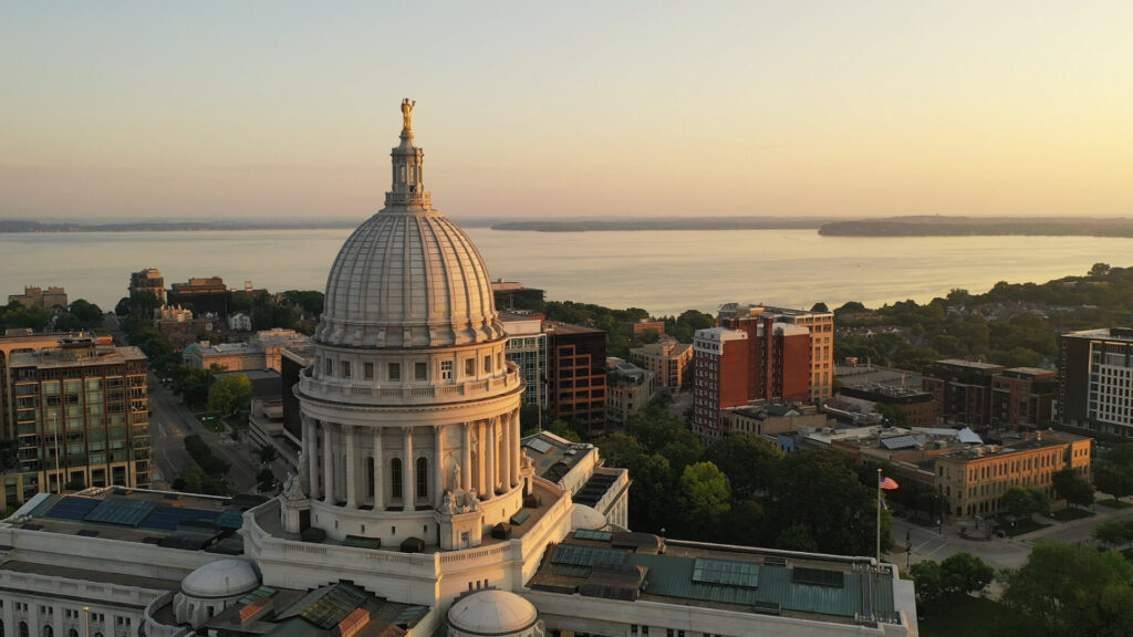 Wisconsin State Capital Building, Madison Wisconsin