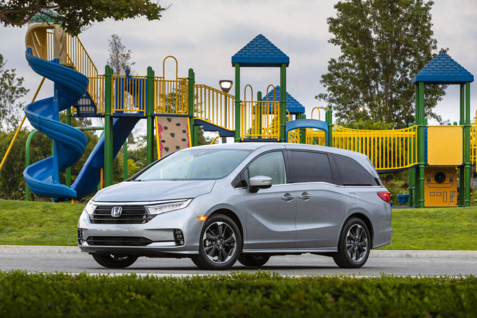 The Honda Odyssey is a fine-looking minivan, and it's pretty good to drive, too.