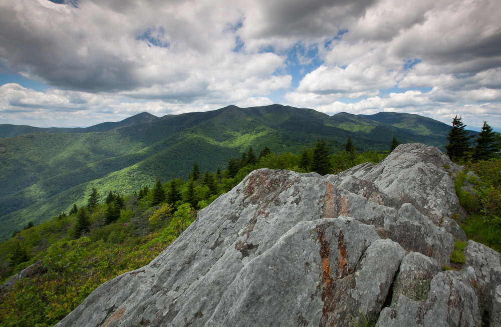 Mount Mitchell and the Black Mountains of North Carolina the Highest Peaks East of the Mississippi River