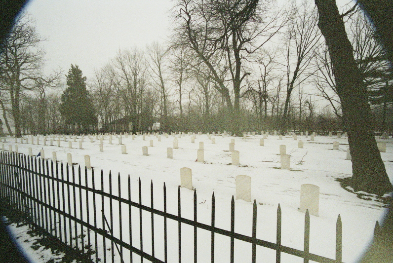 The cemetery at Johnson's Island