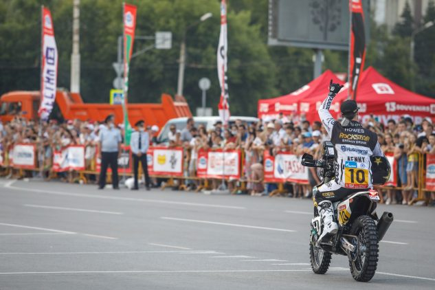 skyler howes at the silk way rally