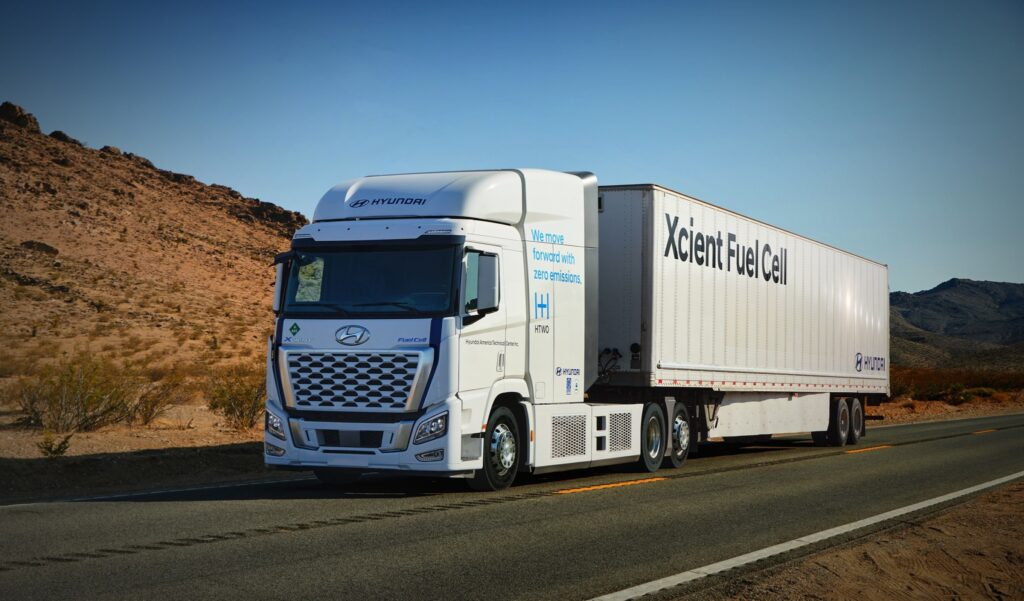 Hyundai Xcient fuel cell electric truck