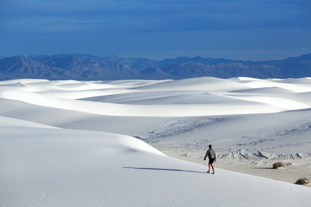 White Sands National Monument New Mexico, USA