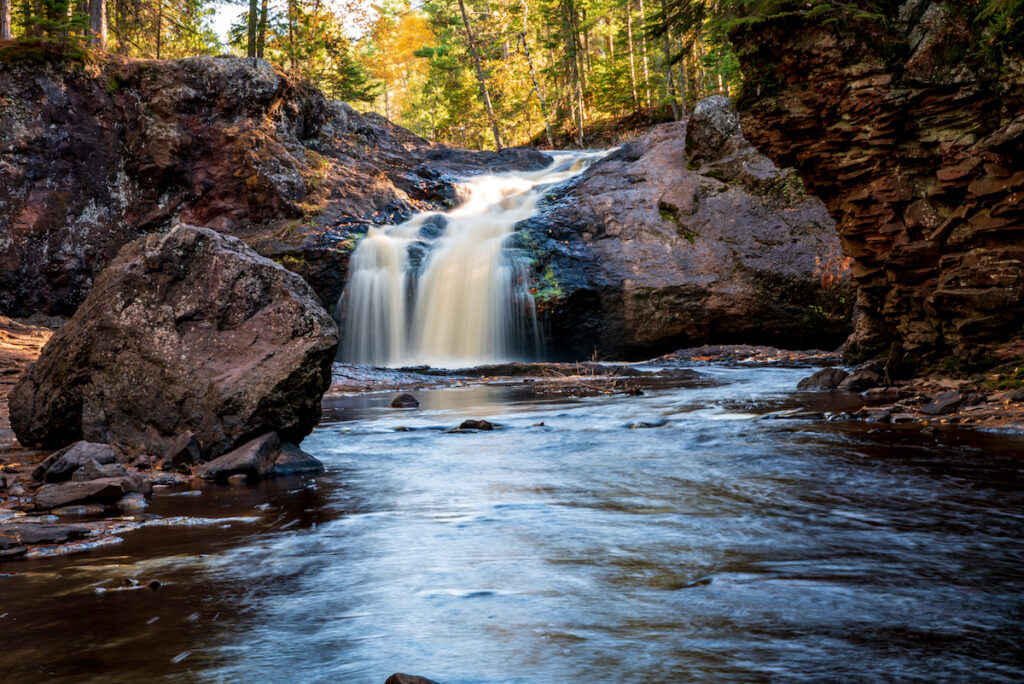 Amnicon Falls State Park Wisconsin