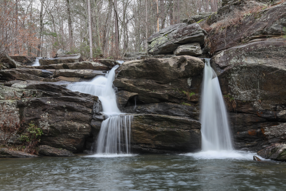 Cheaha Falls in Cheaha State Park Alabama