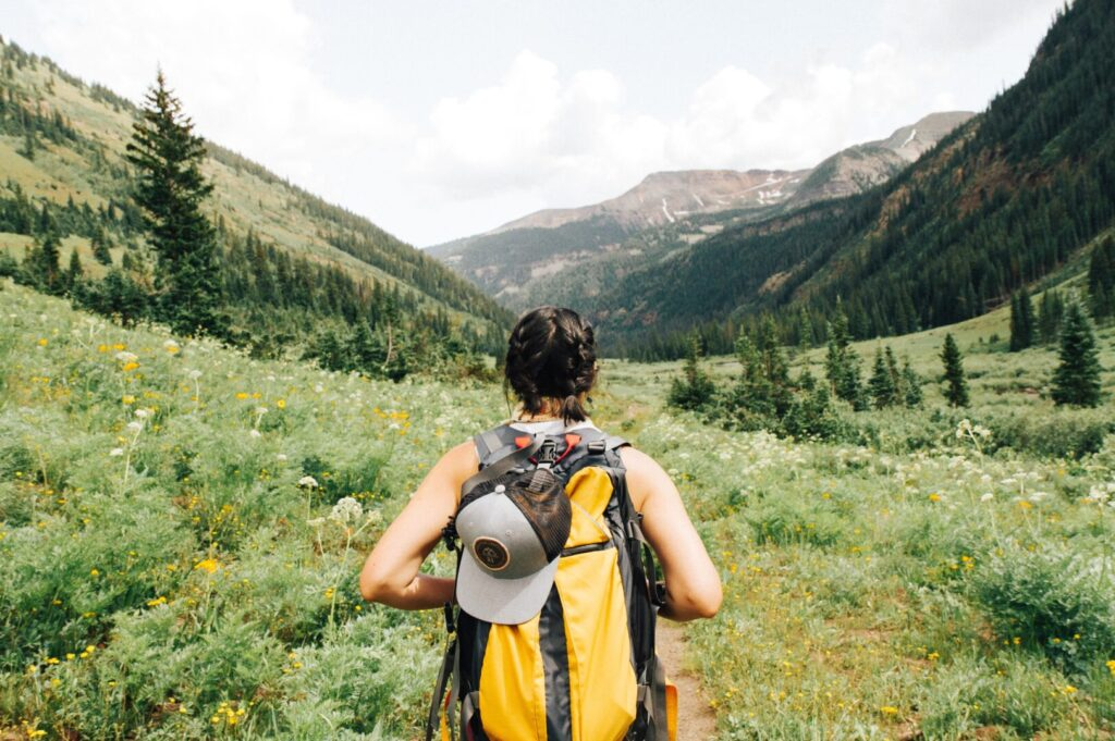 Hiking on an Adventure Road Trip